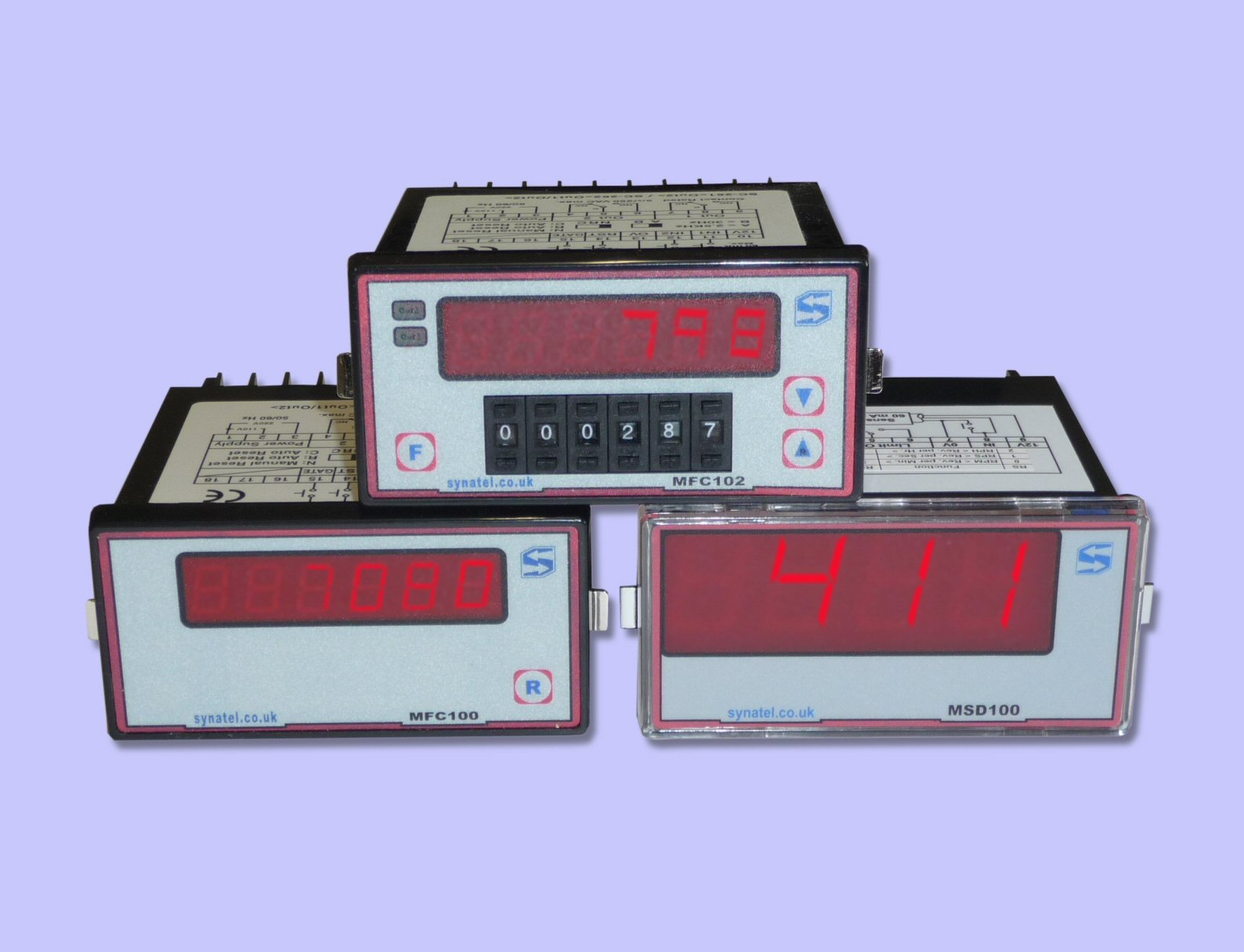 MULTICOUNT Digital Counter/Speed Display Units