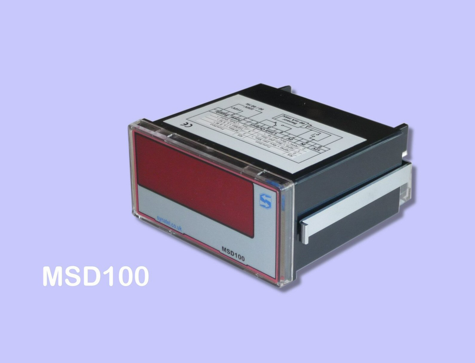 MSD100 Speed display Front View