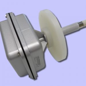 probe with optional flange